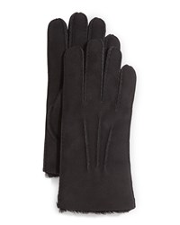 Ugg Gauge Point Shearling Gloves Black
