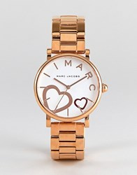 Marc Jacobs Mj3589 Classic Bracelet Watch In Rose Gold 36Mm Rose Gold
