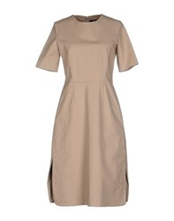 Ter Et Bantine Dresses Knee Length Dresses Women Sand