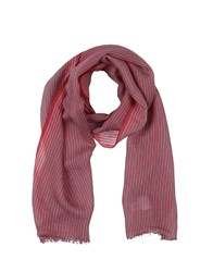 Brooks Brothers Oblong Scarves Red