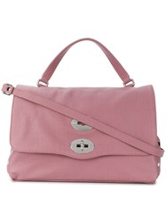Zanellato Postina Tote Pink And Purple