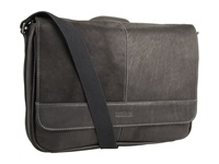 Kenneth Cole Reaction Risky Business Single Gusset Messenger Bag Black Messenger Bags