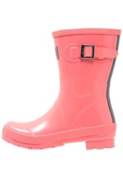 Joules Tom Joule Kelly Wellies Soft Coral