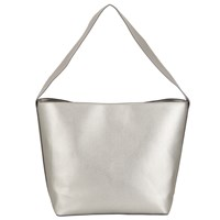 John Lewis Kin By Elsa Shoulder Bag Silver