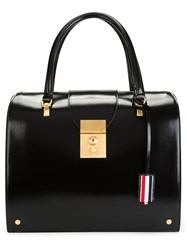 Thom Browne Mrs. Bag In Black Calf Leather
