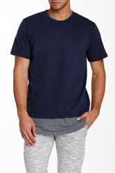 Vanishing Elephant Noah Classic Tee Blue