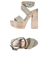 Giampaolo Viozzi Sandals Light Grey