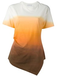 J.W.Anderson Degrade T Shirt Yellow Orange