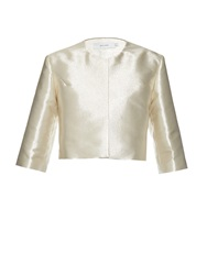 Galvan Metallic Cropped Jacket