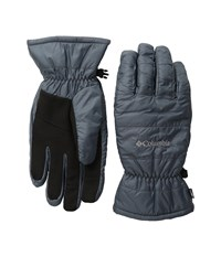 Columbia Saddle Chutes Gloves Graphite Ski Gloves Gray