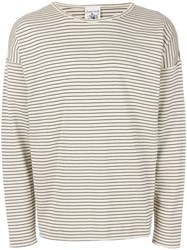 S.N.S. Herning Original Crew Neck Jumper Nude And Neutrals