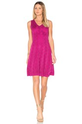 M Missoni Sleeveless Mini Dress Purple