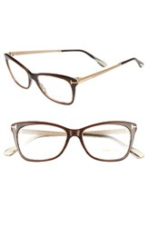 Tom Ford Women's 52Mm Cat Eye Optical Glasses