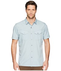 Kuhl Stealth Blue Fog Short Sleeve Button Up