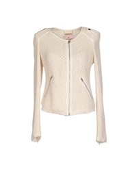 Juicy Couture Coats And Jackets Jackets Women Ivory