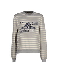 Le Mont St Michel Topwear Sweatshirts Men Grey