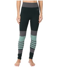 The North Face Secondskin Leggings Scarab Green Ice Green Women's Casual Pants Multi