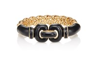 Maison Mayle Women's Forget Me Knot Bangle Gold