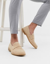 Selected Homme Penny Loafer In Beige