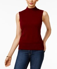 Charter Club Cashmere Mock Turtleneck Shell Only At Macy's Crantini