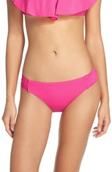 Trina Turk Women's Shirred Side Bikini Bottoms