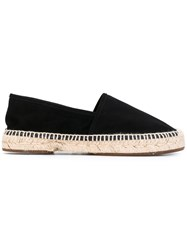 Chie Mihara Paia Espadrilles Women Leather Suede Rubber 38 Black