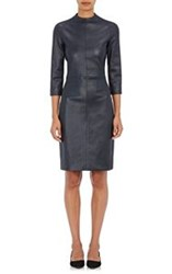 The Row Women's Sobee Leather Dress Blue