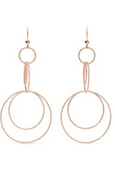 Carolina Bucci Florentine 18 Karat Rose Gold Earrings