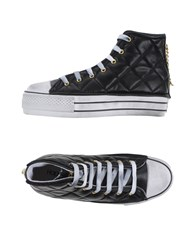Happiness Footwear High Tops And Trainers Women Black