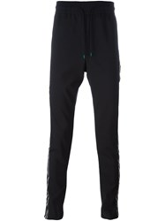 Paul Smith 'London' Piped Track Pants Blue