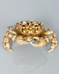 Gavin Bejeweled Crab Box Multi Colors Jay Strongwater