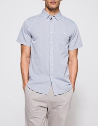 Obey Capital Woven Ss Grey
