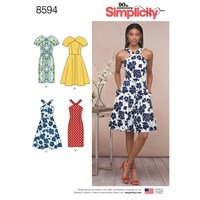 Simplicity 'S Dress Sewing Pattern 8594