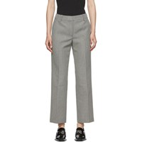 Alexander Wang Black And White Houndstooth Bootleg Trouser