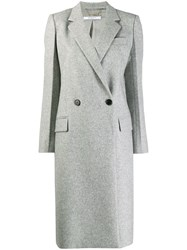 Givenchy Double Breasted Coat Grey