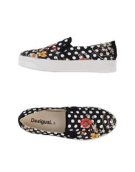 Desigual Low Tops And Trainers Black