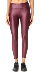Koral Lustrous Leggings Wine
