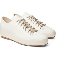 Feit Leather Sneakers White