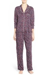 Women's Splendid Piped Pajamas Winter Speckle