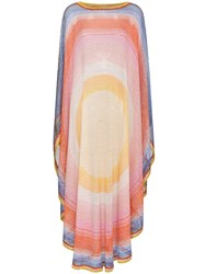 Missoni Circle Pattern Woven Kaftan Multicolour