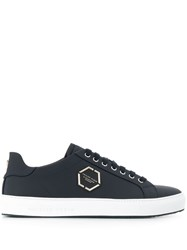 Philipp Plein Logo Plaque Sneakers Blue