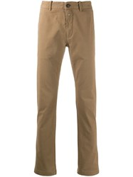 Closed Plain Chinos Brown