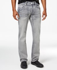 Inc International Concepts Men's Slim Fit Gray Wash Jeans Only At Macy's Grey Wash