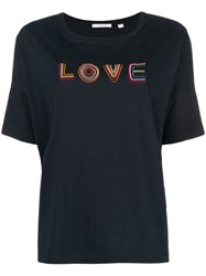 Chinti And Parker Love T Shirt Blue