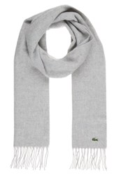 Lacoste Scarf Argent Chine Grey