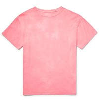 The Elder Statesman Washed Cotton Jersey T Shirt Pink