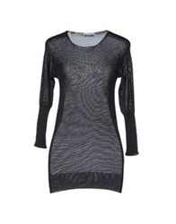 Gentryportofino Short Sleeve Sweaters Steel Grey