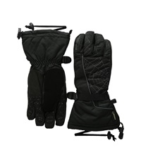 Spyder Overweb Gore Tex Ski Glove Black Polar Over Mits Gloves Brown