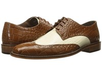 Stacy Adams Giordano Mustard Ivory Men's Shoes Brown