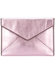 Rebecca Minkoff Envelope Clutch Pink Purple